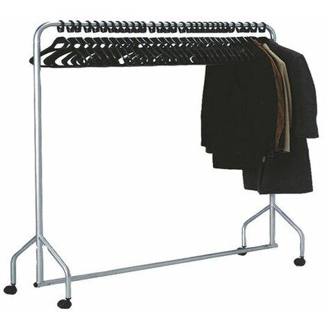 "main image of ""Garment Hanging Rail Plus 30 Hangers - SBY08553"""