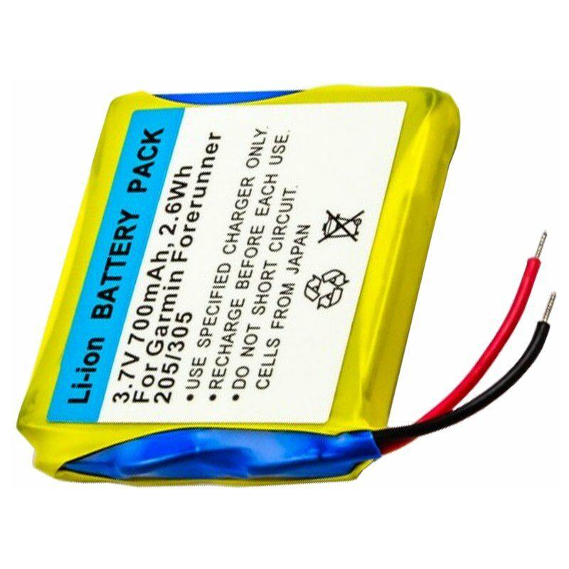 Akku für Garmin Forerunner 305 205 Accu Batterie Ersatzakku