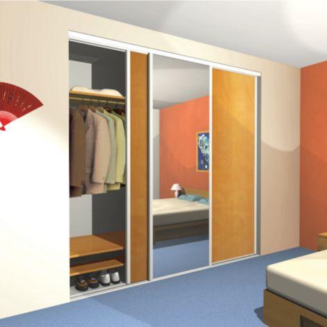 Herrajes necesarios para instalar una puerta empotrada