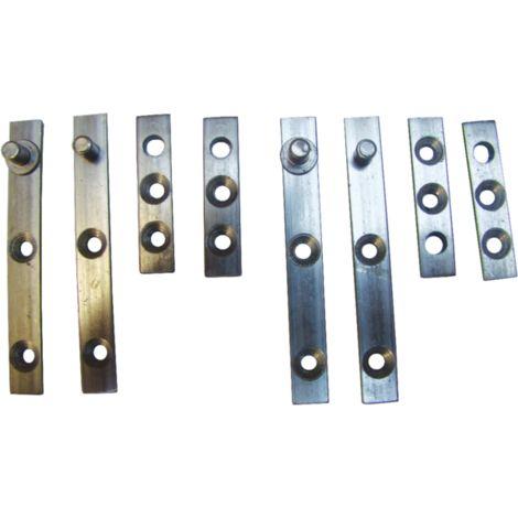 """main image of """"Garniture pivot fer 70 mm QDRC - 8 pièces - PAF072F00"""""""