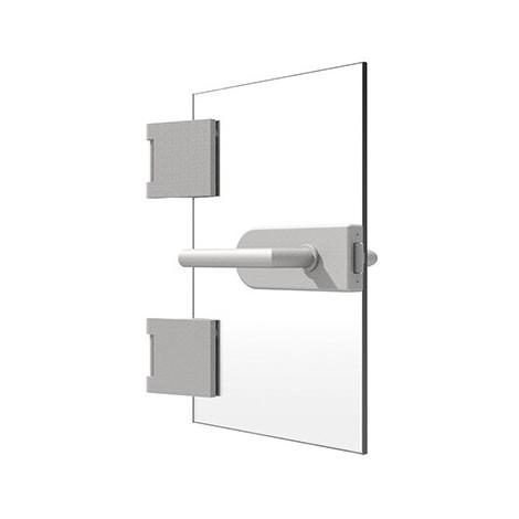 Garnitures de portes en verre
