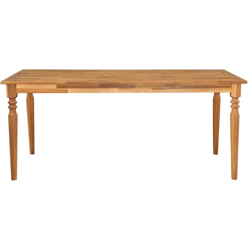 Gartentisch 170x90x75 cm Akazie Massivholz - VIDAXL