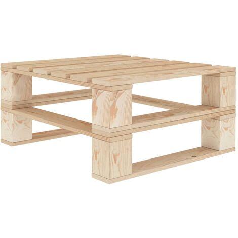Garten-Palettentisch Holz