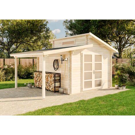 Gartenhaus Aktiva mit Schleppdach