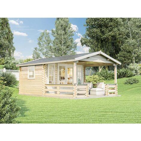 Gartenhaus  Lappland-B ISO