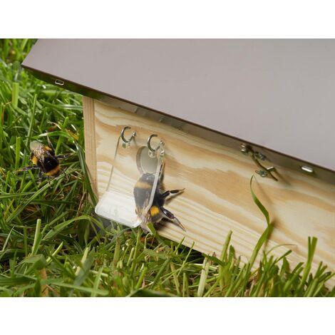 GartenMeister Barrière anti-mites en cire pour ruche de bourdons