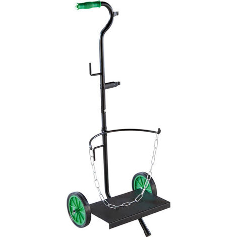 GartenMeister Chariot diable pour bouteille de gaz jusqu' à 25 kg