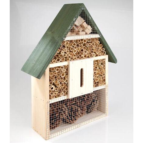 GartenMeister Hôtel à insecte - un abri pour les insectes utiles