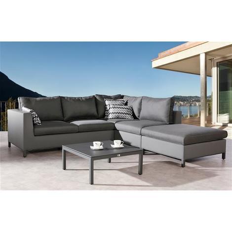 Gartenmobel Lounge Mobel Set Trinidad Best 4 Teilig Anthrazit