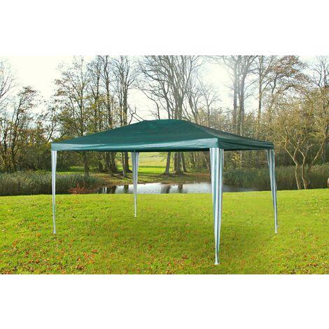 """main image of """"Gartenpavillon grün 3x3m Pavillon Partyzelt Gartenzelt Steckpavillon wetterfest"""""""