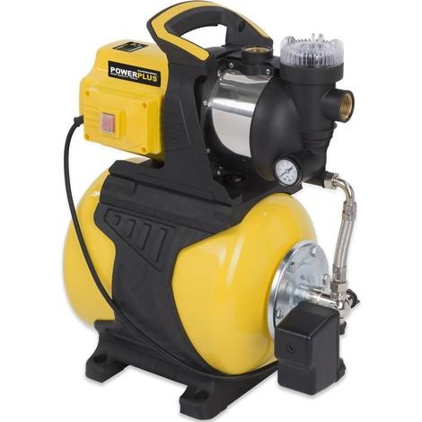 Gartenpumpe Hauswasserwerk Drucktank 19 L Klarwasserpumpe Pumpe 1000 Watt