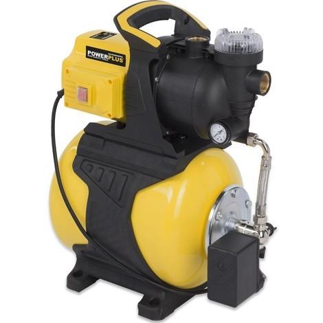Gartenpumpe Hauswasserwerk Drucktank 19 L Klarwasserpumpe Pumpe 600 Watt