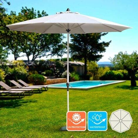 Gartenschirm 3m Sonnenschirm Garten Café Alu Mittelmast achteckig EDEN