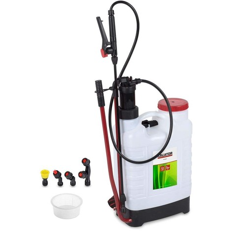 Gartenspritze Drucksprüher Düngerspritze tragbar 12 L Druckspritze Pumpspritze