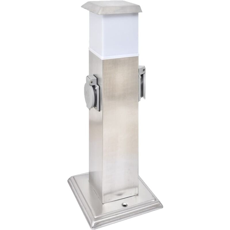 Pollerlampe Wegbeleuchtung Lampe Bodenlampe 50cm Edelstahl mit Bewegungsmelder