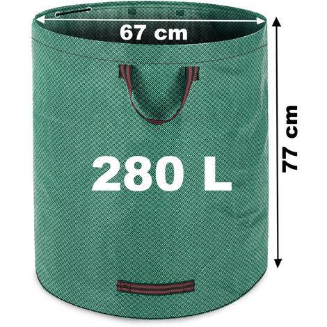 Gartentasche 280L, max. 50kg Füllgewicht + 3 Tragegriffe