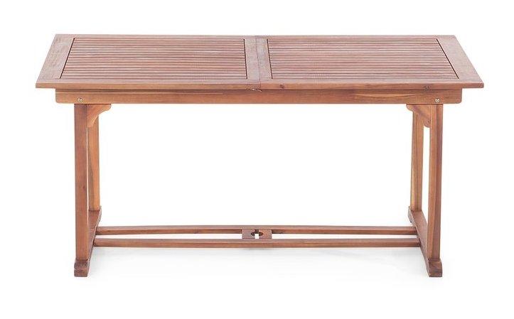 Gartentisch Holztisch Gartenmöbel Tisch Esstisch LAGO 80x80cm Eukalyptus geölt