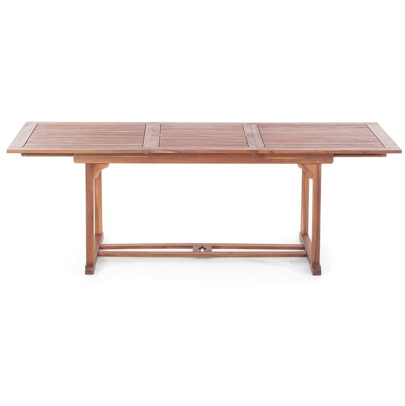 Relativ Gartentisch Holz 160/220 x 90 cm rechteckig ausziehbar TOSCANA - 1435 PX77