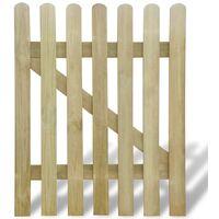 Gartentor 100 x 120 cm Holz