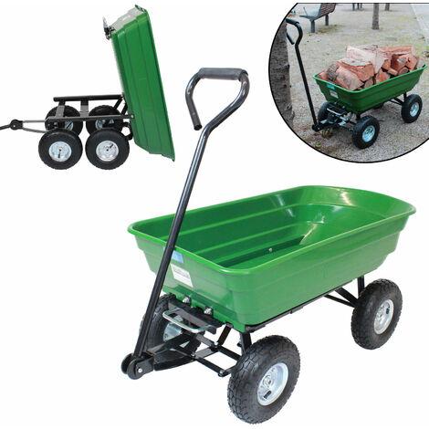 Güde Gartenwagen Transportwagen Handwagen GGW 501 Bollerwagen Karre grün