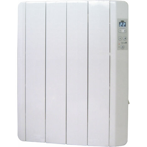 Garza Emisor Termico - Radiador De 4 Elementos De Termo Fluido, Potencia 500W