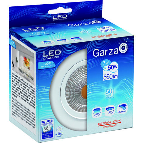 Garza Led Empotrable Blanco 7W