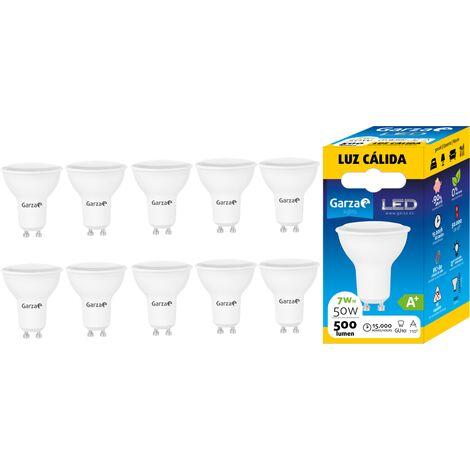 Garza - Pack 10 bombillas LED de bajo consumo estandar