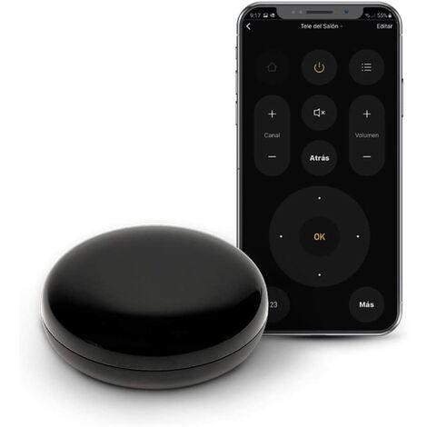 Garza Smarthome - Controlador IR Infrarrojos Wifi Inteligente, programable, control por voz y app, Alexa, iOS, Google, Android