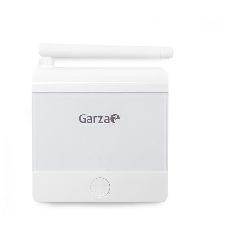 Garza - Termostato digital inalámbrico programable para caldera y calefacción. Cronotermostato controlador de temperatura táctil y portatil.