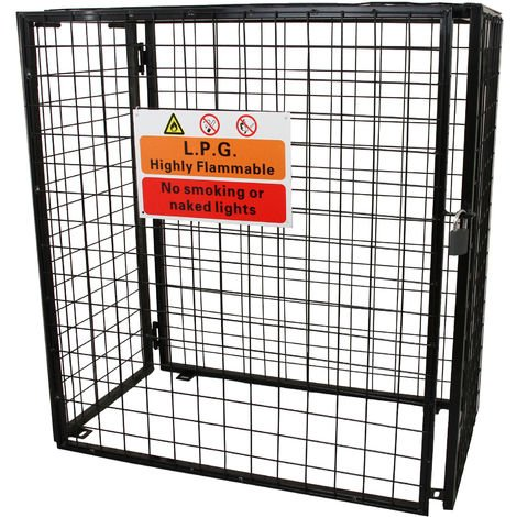 Gas Bottle Mesh Cage 920mm