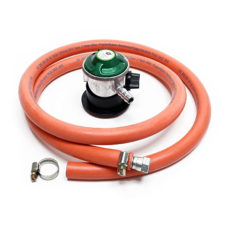 Gas Hose 1.5m with Pressure Regulator 30mbar regulates Gas Pressure Spain