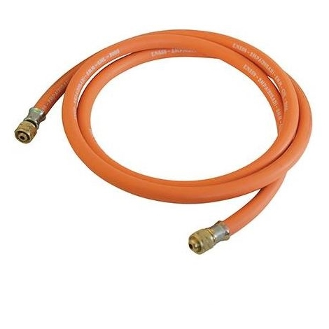 Gas Hose with Connectors - 2m