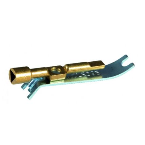 Gas key-tool for opening and resetting