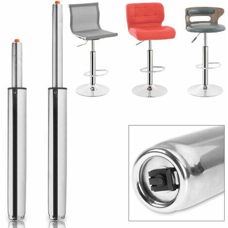 Deuba Gasdruckfeder Gasdruckdämpfer für Barhocker bis 720mm 400Nm 180kg Belastbar stufenlos Güteklasse III