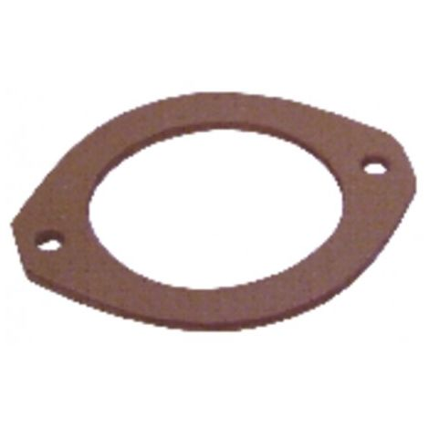 Gasket flange burner - COUSSEMENT - DREIZLER - ECOFLAM - EQUATION - FRANCO BELGE - DIFF for Atlantic : 142829