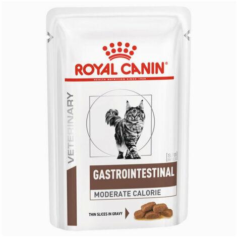 Gastro intestinal Moderate Calorie buste umido gatto Royal Canin 12x100g