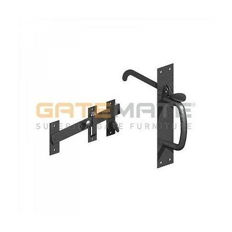 Galvanised Auto Gate Latch//Catch Heavy Duty Self-Locking Garden//Outdoor Lock