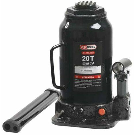 Gato de cilindro hidráulico KS TOOLS - 20T - 160.0358