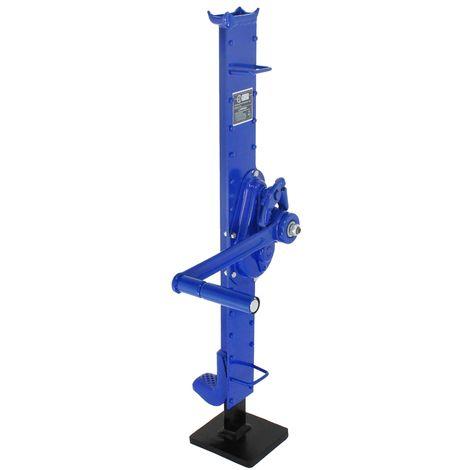 Gato de cremallera mecanico 1,5t palanca elevadora cabresante acero con manivela