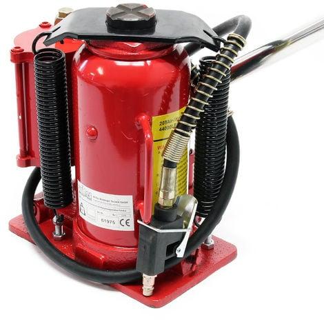 Gato hidráulico 20T Elevador de coche Gato de botella Taller mecánico Garaje Accesorios vehículos