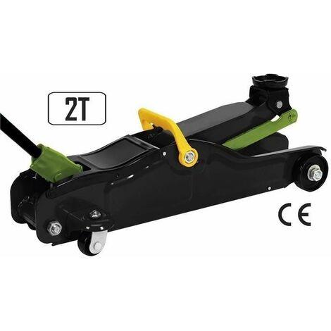 Gato hidráulico carretilla especial coches bajos JBM