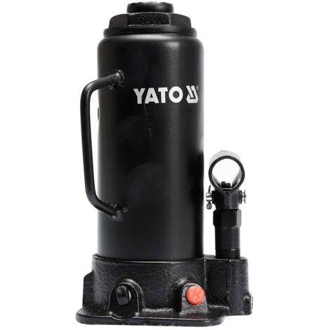 Gato Hidráulico de Botella YATO de 10 Toneladas YT-17004