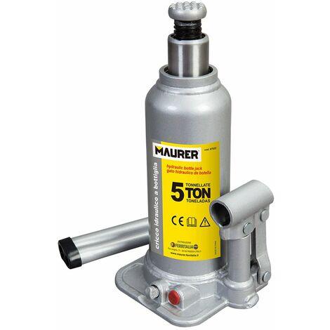 Gato Hidraulico Maurer Botella 5000 Kg.