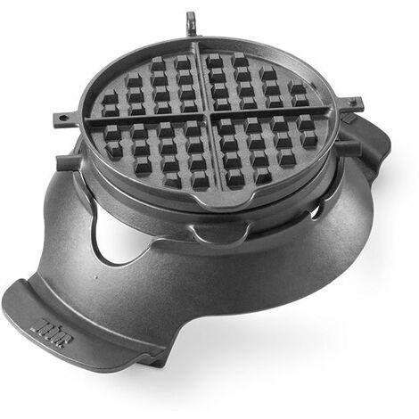 Gaufrier / Croque-monsieur pour grille GBS Weber - Noir