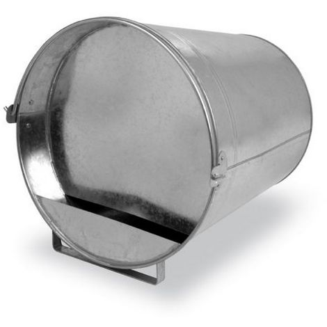 Gaun Galvanized Poultry Bucket Drinker (12lt) (Silver)