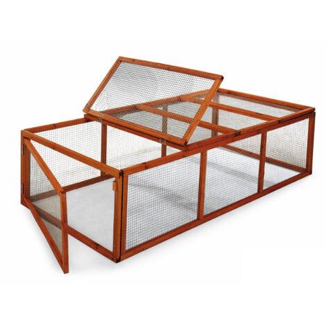 GAUN Parque universal nº2 *Parque adaptable a caseta de conejos modelo Praga mm. 1800 x 900 x 480h.