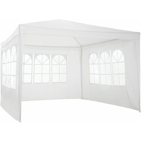 Gazebo 3x3m with 3 side panels - garden gazebo, gazebo with sides, camping gazebo