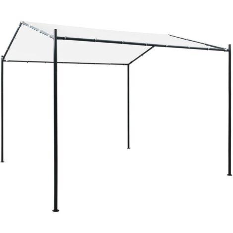 Gazebo 3x3x2.6 m White 180 g/m²