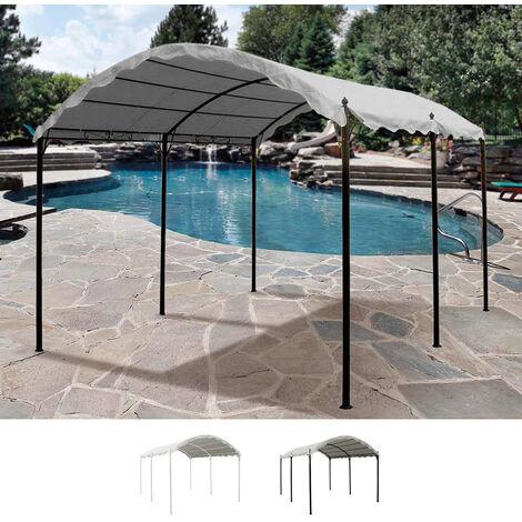 Gazebo 3x4 metri copertura bar giardino acciaio ONDA uv
