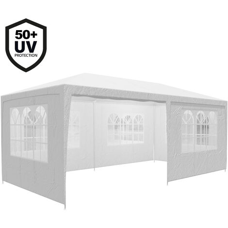Gazebo 3x6m Marquee Canopy Sun Shade Patio Outdoor Garden Festival Party Tent